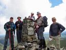 The top of Aran Fawddwy.