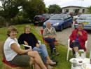 Afternoon tea at Brynllwyd following the walk