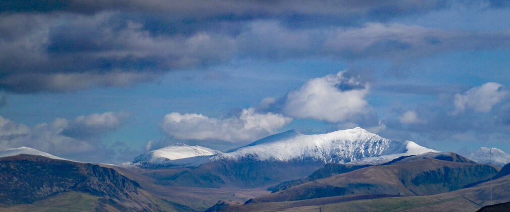 Snowdonia from Gyrn Goch. 14/2/16.