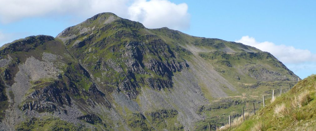 Cnicht from the south side of Cwm Croesor.